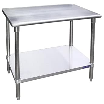 Amazoncom Universal SG X Stainless Steel Work Table - 36 x 48 stainless steel table