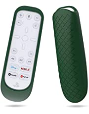 Silicone Cover for PS5 Media Remote,Protective Case Sleeve for PS5 Remote Control,Playstation 5 Media Remote Skin Washable,Shockproof (Green)