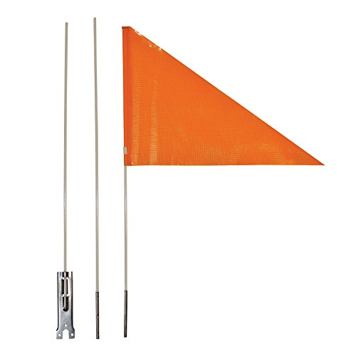 In the Breeze Bike Safety Flag with Pole, 6-Foot Adjustable Height
