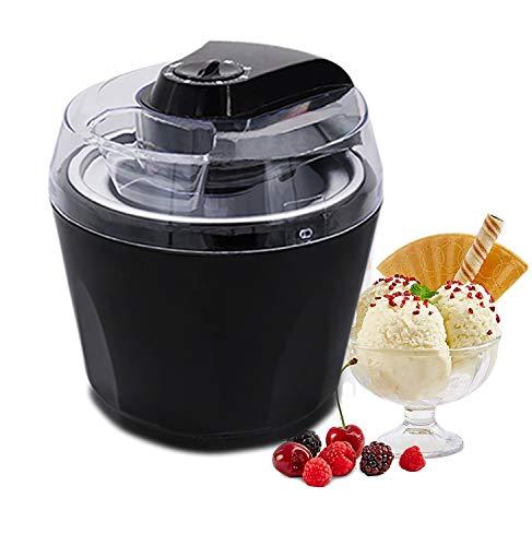 YANX Ice Cream Maker, Frozen Yogurt and Sorbet Machine, 1.5L Electric Stirring, with Auto Shut-off Timer.