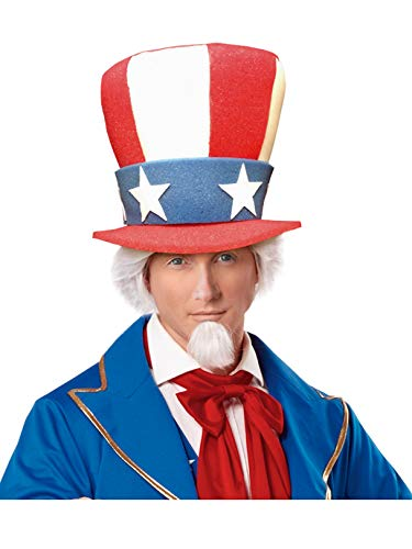 (Uncle Sam Adult Top Hat (One)