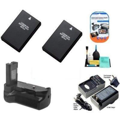 Digi Pro Nikon D5000 agarre Vertical de batería + 2 EN-EL9 pilas ...