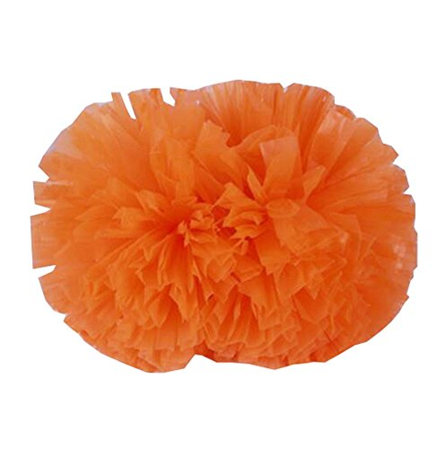 Fun Orange Cheerleading Squad Spirited 14 2PCS Kit Cheer pouces Cheer Poms vBnqwPXa