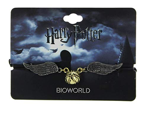 Hot Topic Harry Potter Golden Snitch Bracelet -