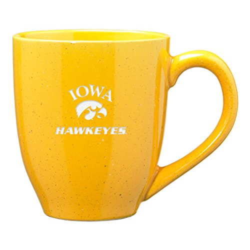 University of Iowa - 16-ounce Ceramic Coffee Mug - Gold