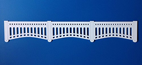 York Yankees New Border (Medium (3.875″ High) Yankees Stadium Facade Panel 3-Up (Center))