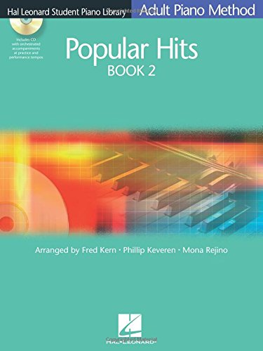 Popular Hits Book 2 Adult Piano Method Hlspl Audio Online (Hal Leonard Student Piano Library (Songbooks))