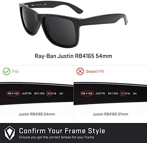 ray ban justin verre remplacement