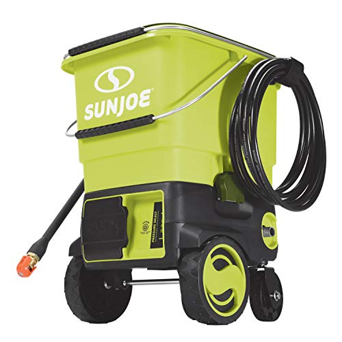 Sun Joe SPX6001C 1160 MAX PSI 40V Cordless Pressure Washer, Kit (w/4.0-Ah Battery + Quick Charger) (Battery Operated Power Washer As Seen On Tv)