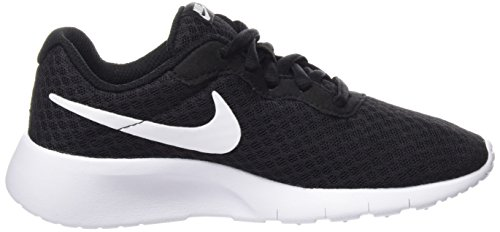 Nike Boy's Tanjun (PS) Running Shoes (1 Little Kid M, Black/White/White) by Nike (Image #6)
