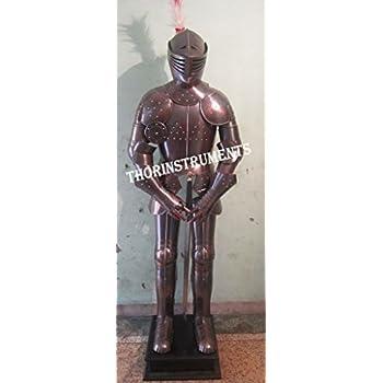 Amazon.com: Traje Medieval de combate de armadura de Armor ...