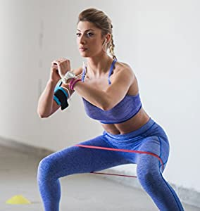 Resistance Bands by SmarterLife - 5 Extra Wide Exercise Bands Prevent Folding, Twisting - Non-Latex, Anti-Snap Resistance Band Design - Workout Bands for Resistance Training, Pilates, Physical Therapy from SmarterLife Products LLC