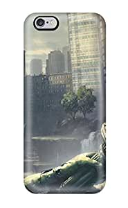 DcgLVmq2158XdoDu Case Cover Post Apocalyptic iphone 5c Protective Case(3D PC Soft Case)