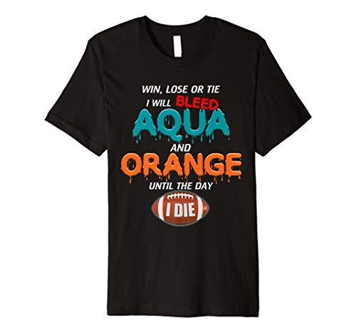 Gulf Shores Apparel: Miami Football Shirt: Limited Edition Premium T-Shirt