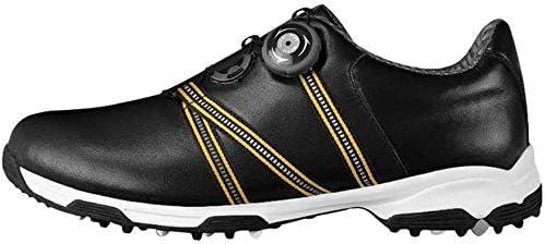 学生ゴルフシューズ、アウトドア非スリップ通気性のスポーツの靴 (Size : 43EU)