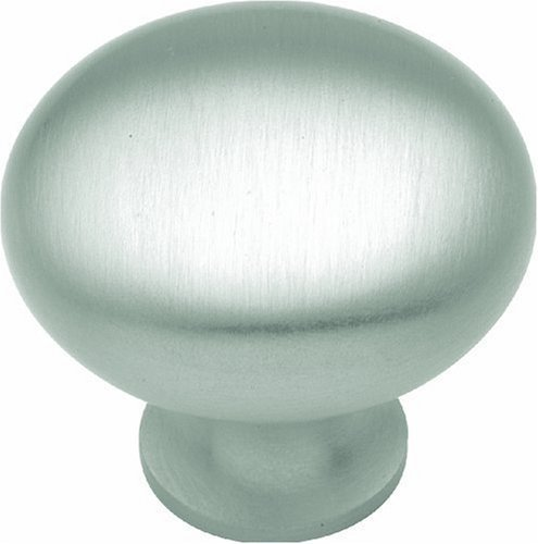 Hickory Hardware BK13-15 1-1/4-Inch Power and Beauty Knob, Satin Nickel by Hickory Hardware