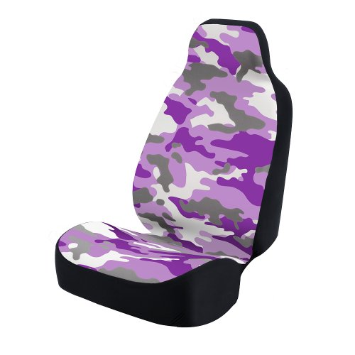 purple camo seat covers - 4
