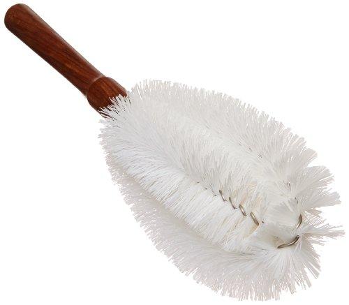 EISCO Nylon Beaker Brush with Wooden Handle, 325mm Total Length