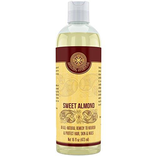 Amazing-Ayurveda-100-Pure-Sweet-Almond-Oil-16-Fl-Oz