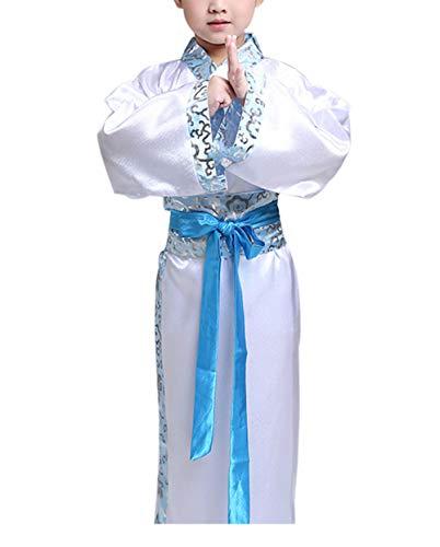 zhbotaolang Traditional Chinese Halloween Costumes Girl Hanfu Clothing (4XL Blue) -