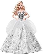 Mattel - Barbie Holiday Doll, Wavy Blonde Hair