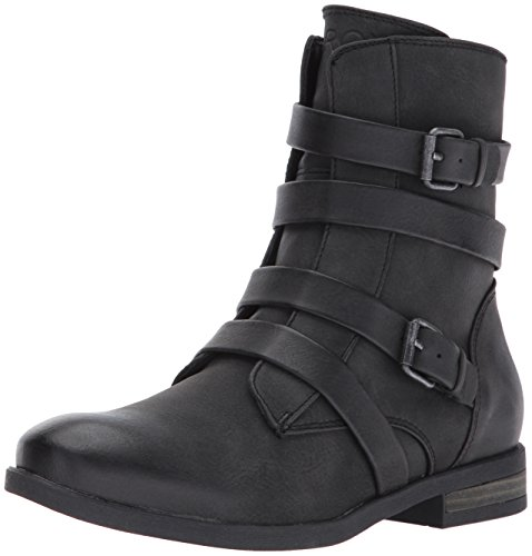 Roxy Women's Reyes Motorcycle Boot, Black, 9 M US