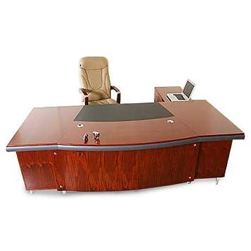 Chef Schreibtisch Buero Büromöbel Paris linksseitig Echtholz ...