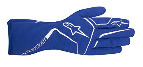 Alpinestars 3552017-70-L Tech 1-K Race Gloves, Blue, Size L