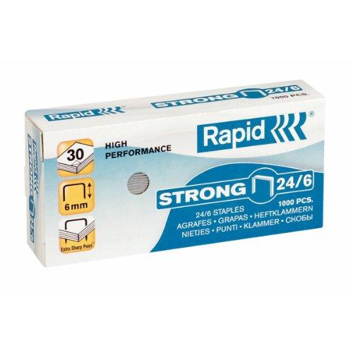 21 opinioni per RAPID Strong N, Punti metallici 24/6 sct.1000 punti