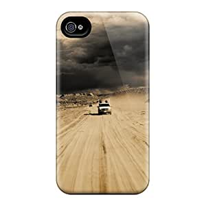 Iphone 4/4s Case Slim [ultra Fit] Road Protective Case Cover