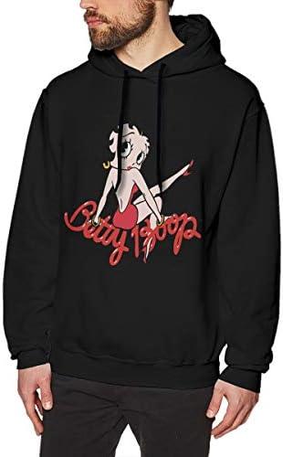 Betty Boop ベティ・ブープ パーカー メンズ トレーナー 春秋 旅行 スポーツ 秋服 ゆったりフーデット