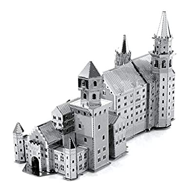 fascinations Metal Earth Neuschwanstein Castle 3D Metal Model Kit: FASCINATIONS: Toys & Games