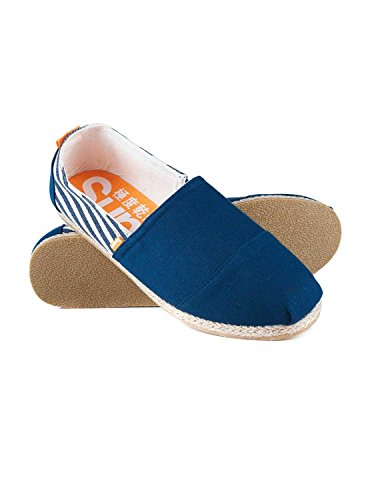 Espadrille Superdry Jetstream Blau 40 Blau