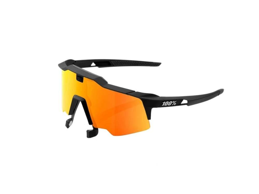 100% Sportbrille Speedcraft Air Soft Tact schwarz