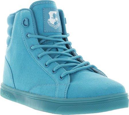 Vlado Calzature Donna Atena Tela / Nylon Sneakers Alte Turchese Mono