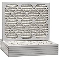 10x14x1 Ultra Allergen Merv 11 Pleated Replacement AC Furnace Air Filter (6 Pack)