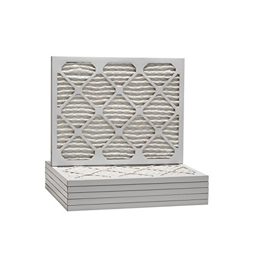 Tier1 Replacement for 16x18x1 Merv 11 Pleated Ultra Allergen AC Furnace Air Filter 6 Pack