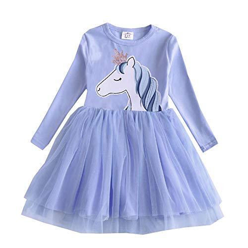 VIKITA Toddler Girl Pricess Pony Horse Dress Winter
