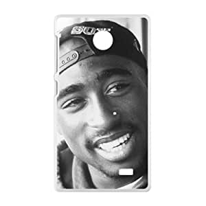 Malcolm tupac quotes about life Phone Case for Nokia Lumia X
