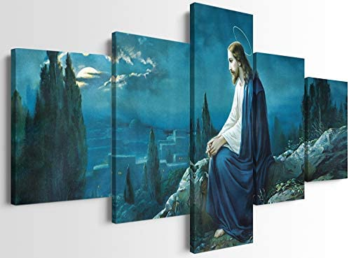 Framed Christian Wall Posters The Prayer of Jesu