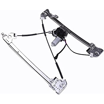 Mexico Power Window Lift Regulator on Front Right Passengers Side with Motor Assembly Replacement for 2004-2008 Ford F-150 Lobo 2006-2008 Lincoln Mark LT