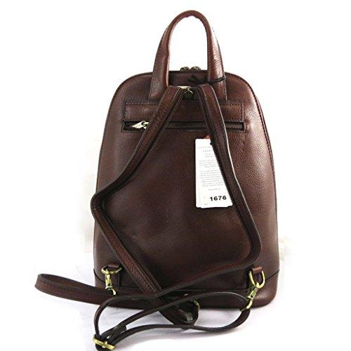 Bolso de cuero de nuevo 'Vendôme'marrón.