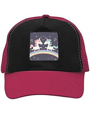 Unisex Unicorns Rainbow Adjustable Classic Hiphop Hat Baseball Cap Snapback Dad Hat