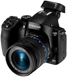 Samsung NX30 - Cámara Evil de 20.3 MP (23.5 x 15.7mm, Pantalla ...