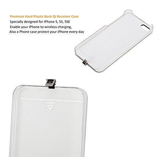 antye qi wireless charger charging receiver case back. Black Bedroom Furniture Sets. Home Design Ideas