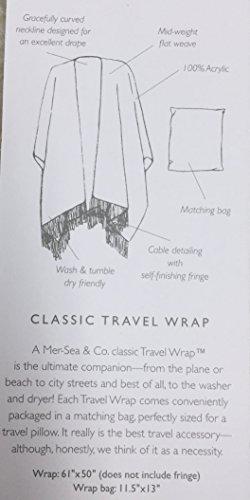 Travel Wrap (Poppy) by Mer Sea (Image #2)