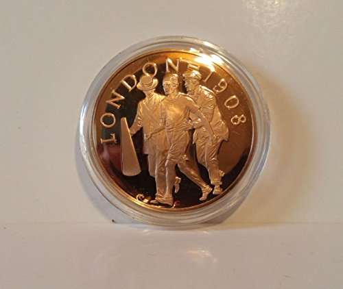Dorando Pietri - Italy - The Great Marathon of 1908 - 1908 London, England - Franklin Mint History of the Olympic Games - 1976 Bronze Proof Coin ()