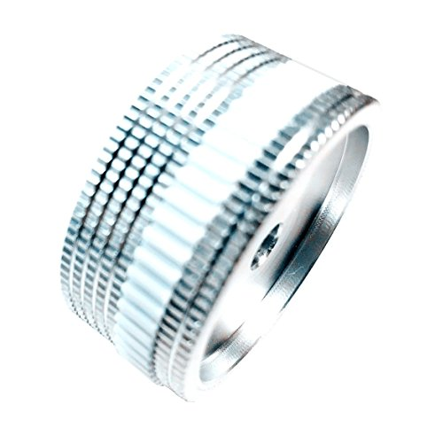 SamIdea(TM) 40X18mm Solid Machined Metal Amplifier Potentiometer Knobs Cap for CNC,Power Amplifier,Speaker by SamIdea