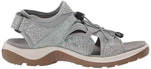 Ecco Con ice Para Flower Offroad Punta 51340 cocoa Abierta Mujer Brown Sandalias p7Urp