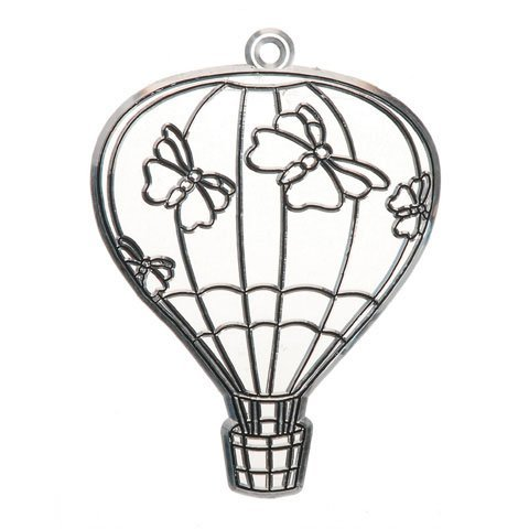 Bulk Buy: Darice Crafts for Kids Suncatcher Hot Air Ballo...